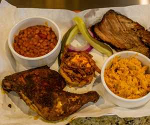 2 Meat BBQ Plate